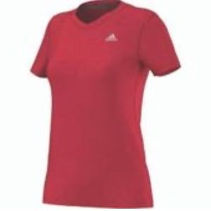 Adidas Ultimate Tee Ray Red XL climatite